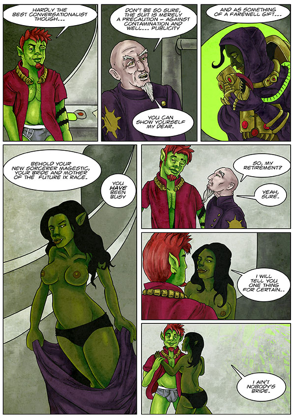 The Sorcerer page 2